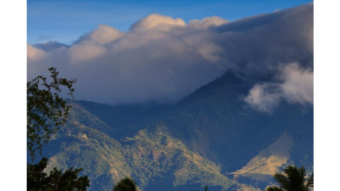 De notre maison vue sur la montagne