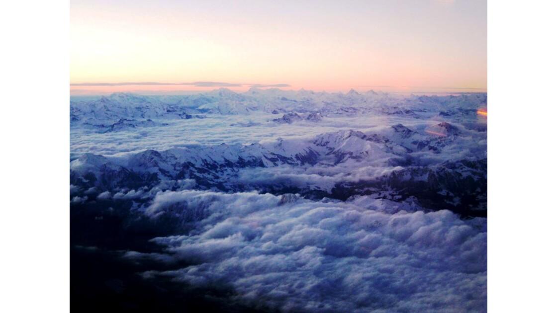 Petit matin sur les Alpes Suisse