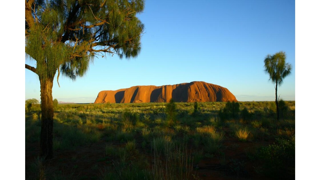 Uluru - sunrise