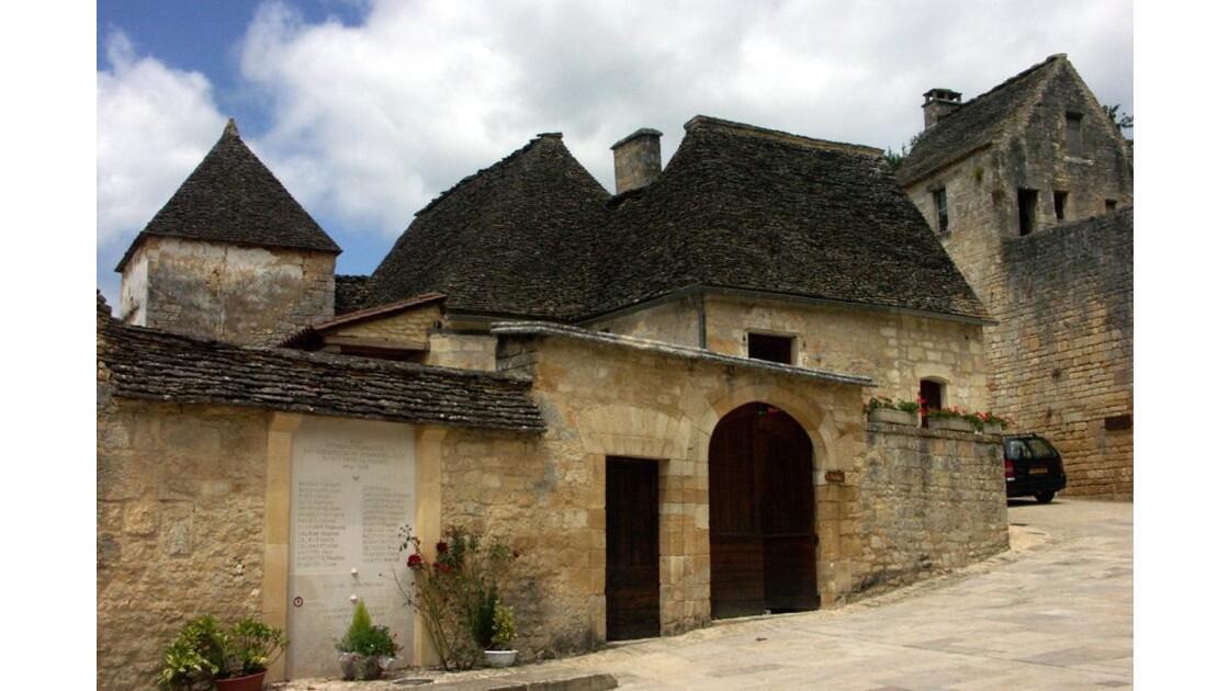 Maisons typique du village