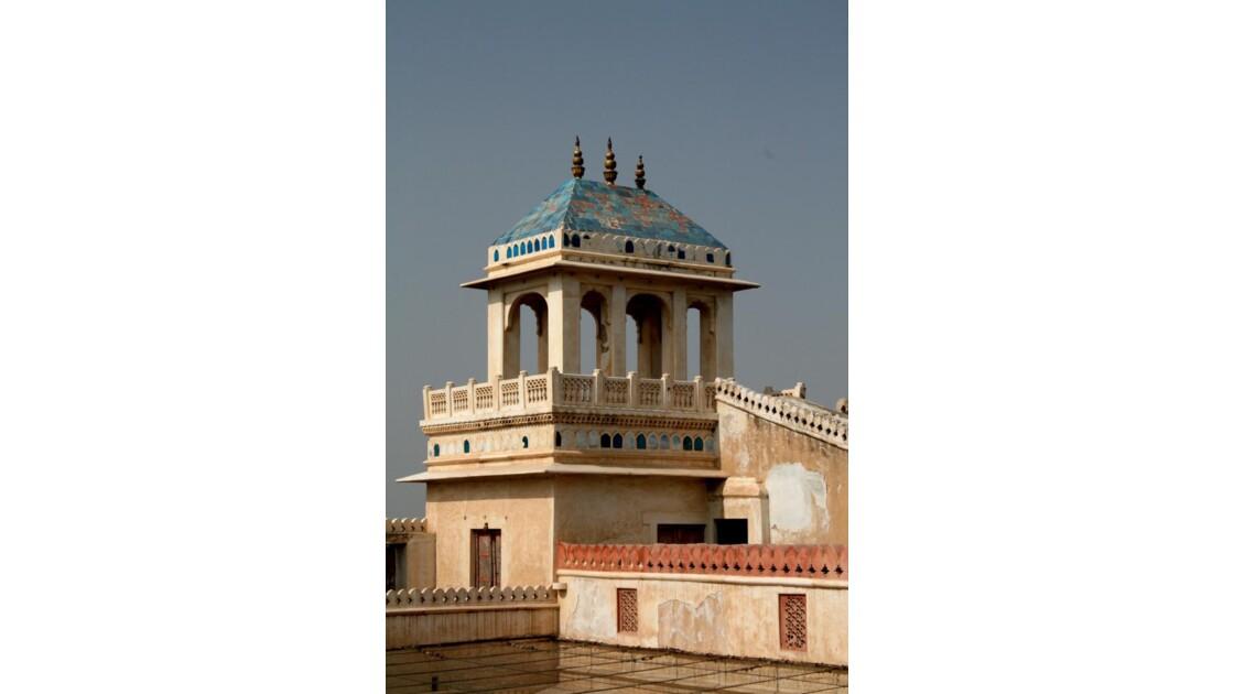 Tuiles bleues de Junagarth fort