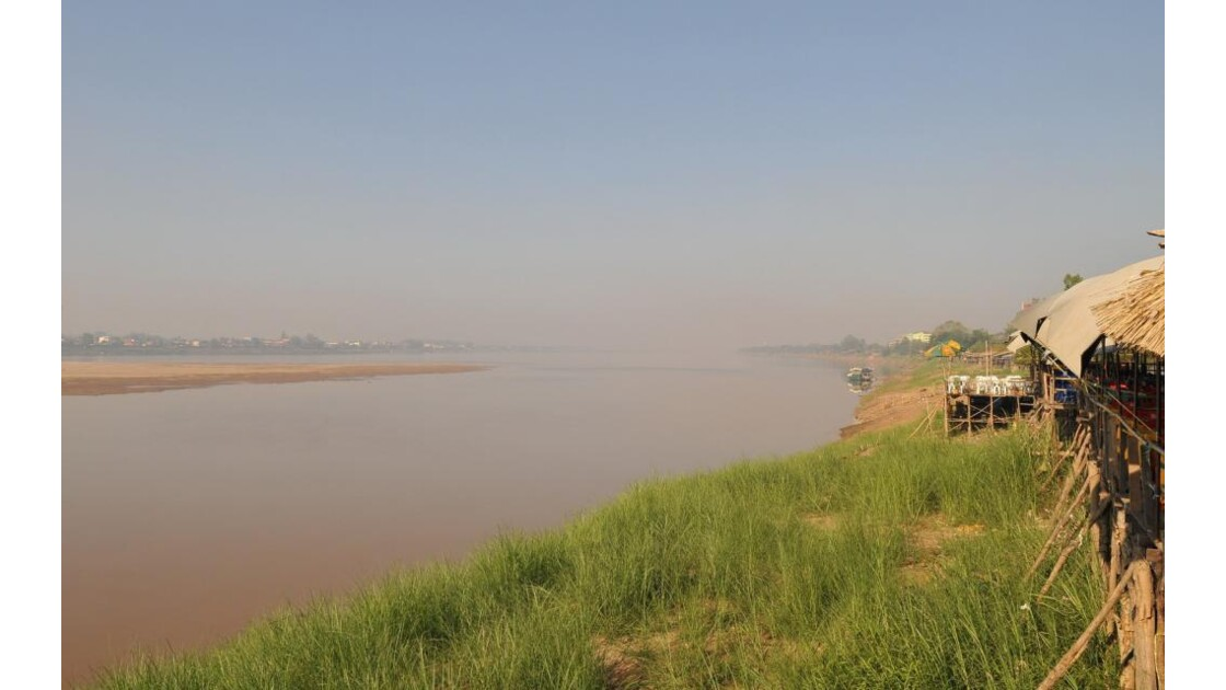 Vientiane, le Mékong
