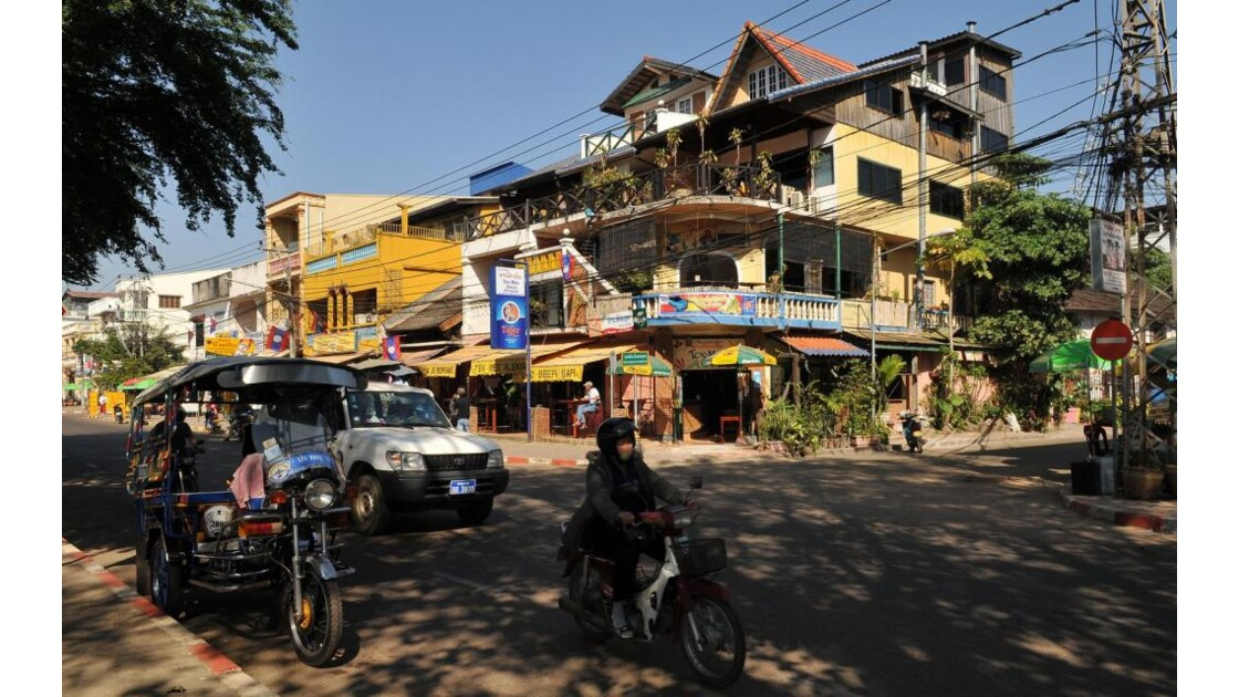 Vientiane, quai Fa Ngum