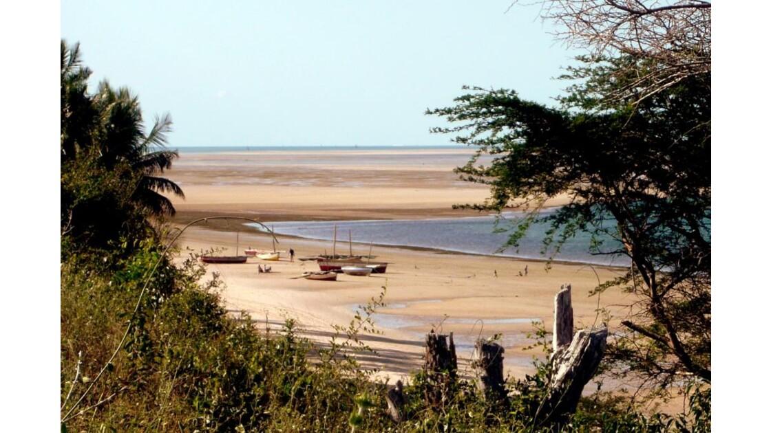 Mozambique bateaux de pêche