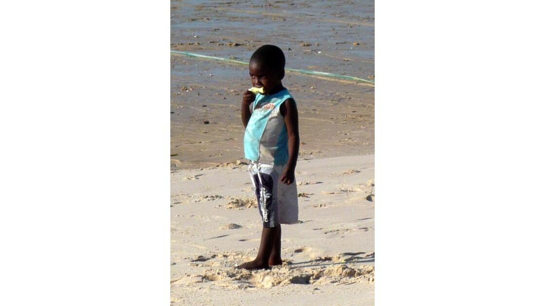 Mozambique gamin