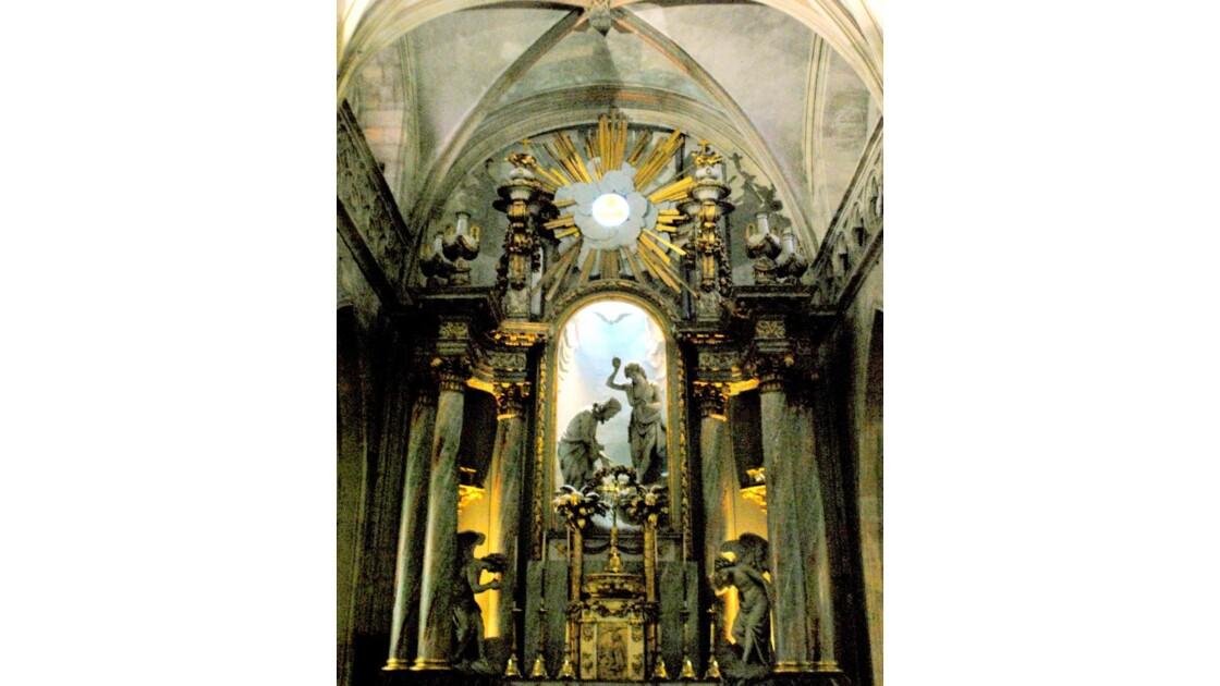 Maître-autel de la Trinité