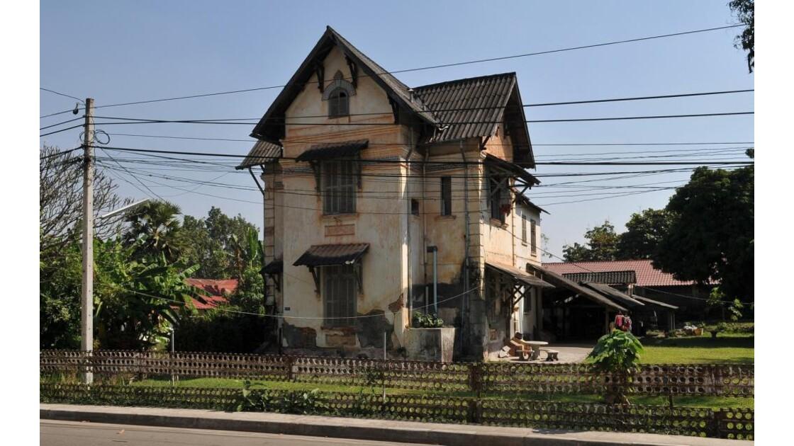 Vientiane, villa coloniale