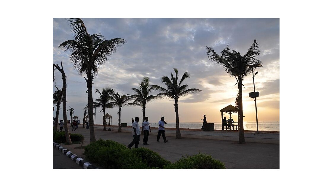 Esplanade à Pondy…