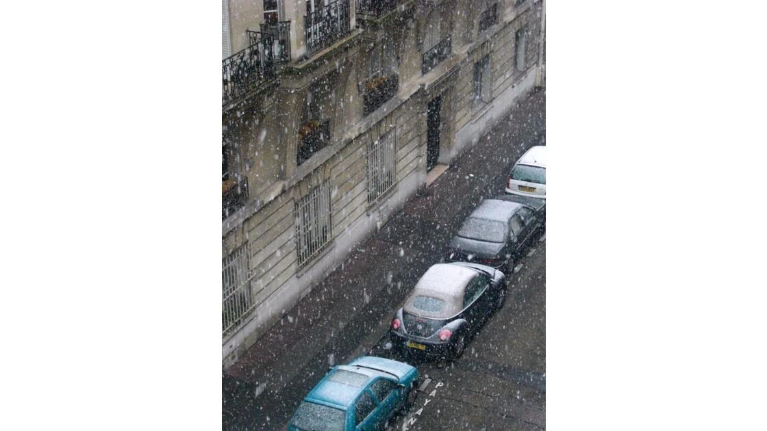Journée Blanche à Paris