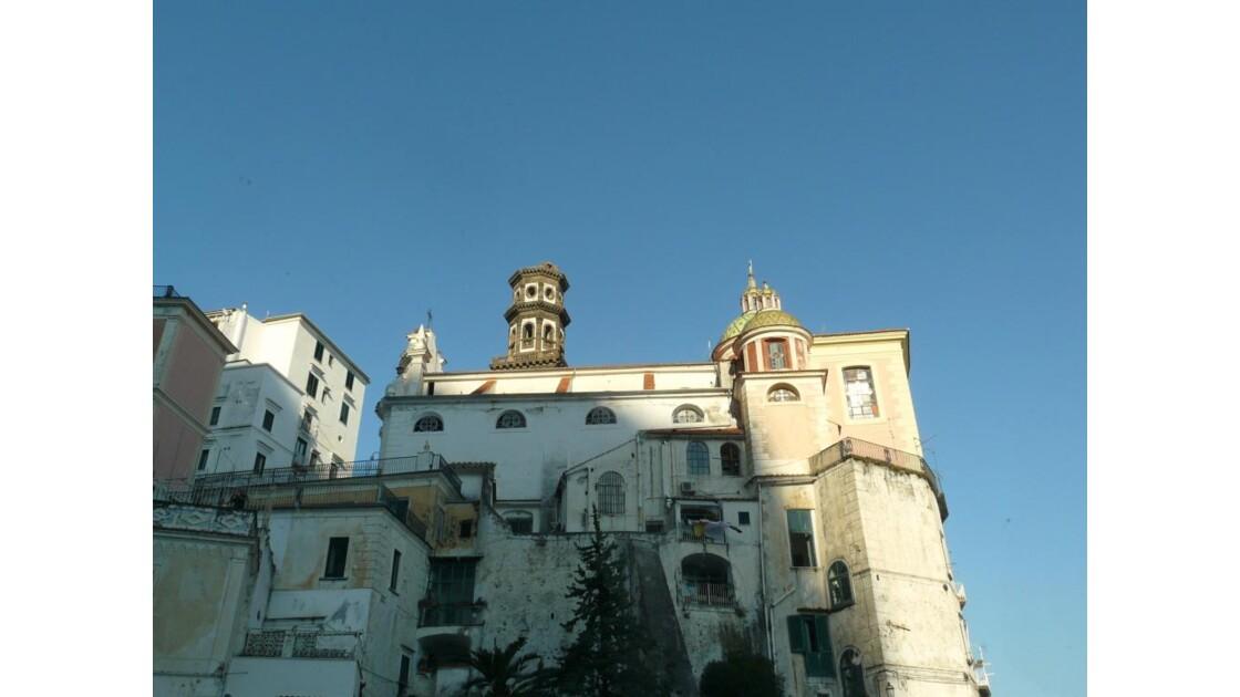 ITALIE Sortie d'Amalfi.