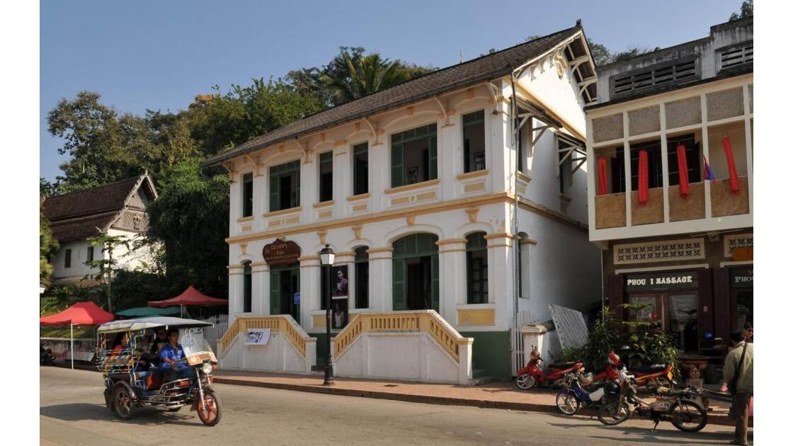 Luang Prabang, maison coloniale