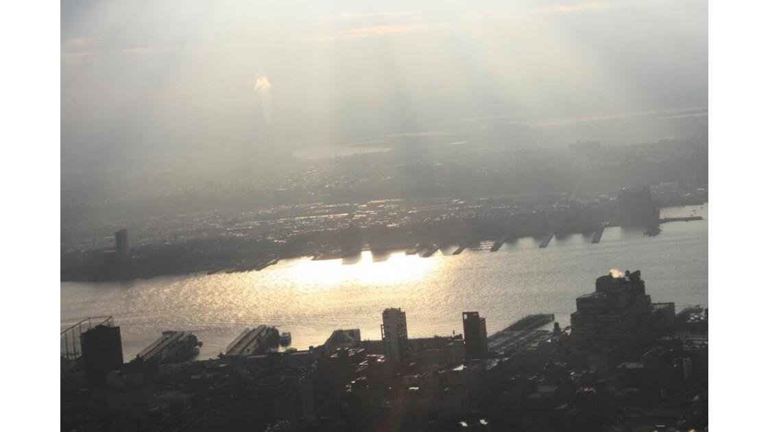 DE L'Empire State - L'Hudson au Couchant