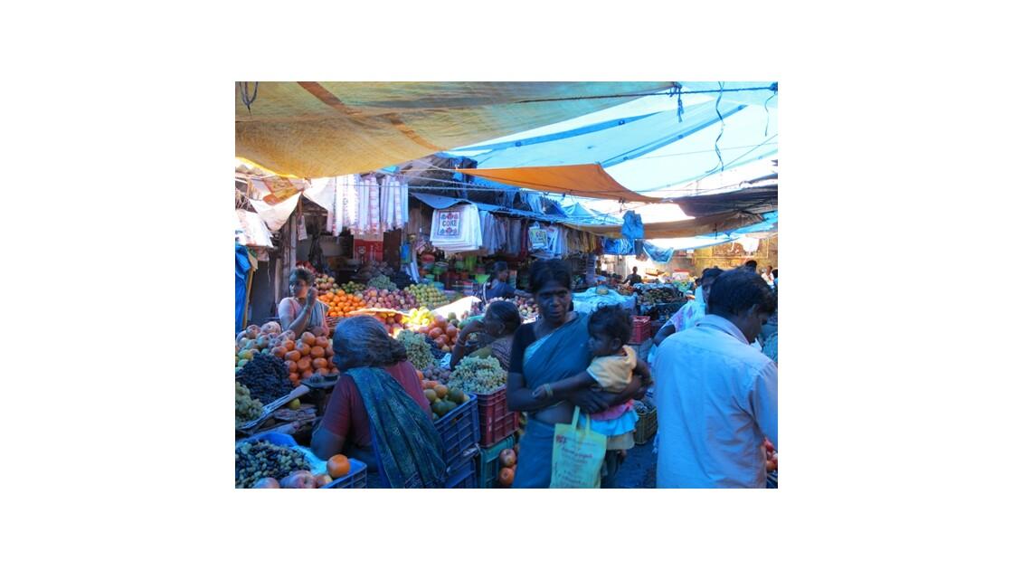 Marché Pondicherry