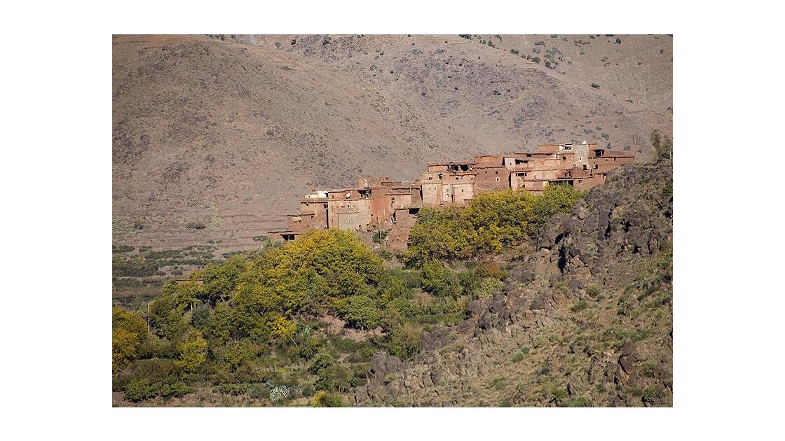 Atlas maroc village