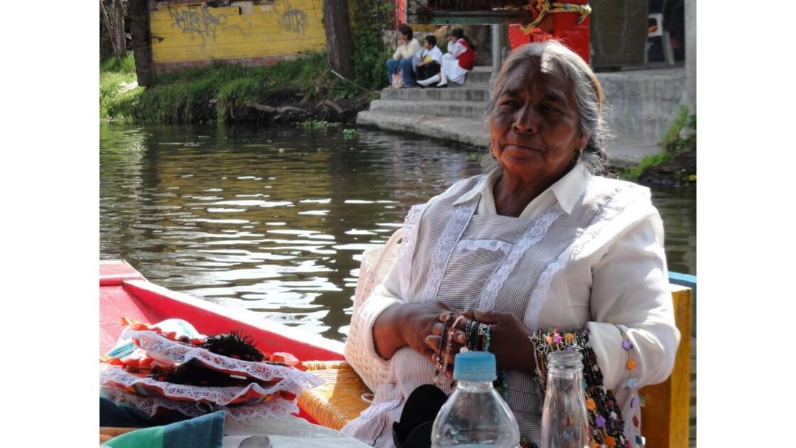 crosière à Xochimilco