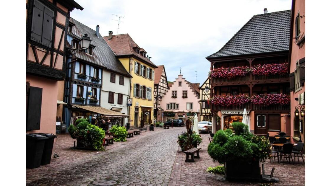 en entrant dans Turckheim....