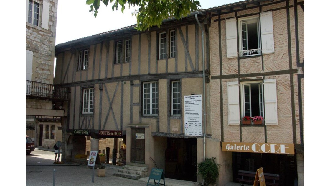 Maisons a colombages