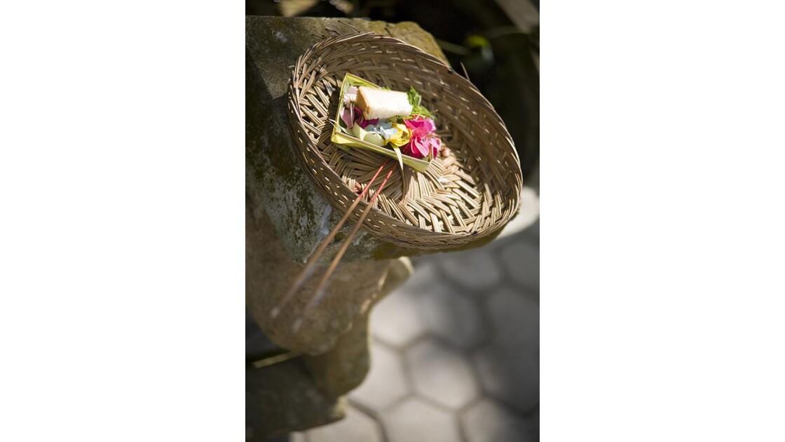 Bali, offrande