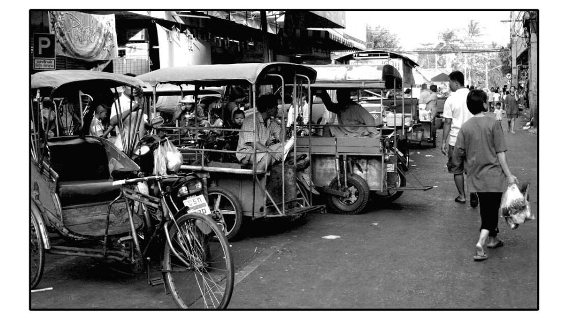 Banlieue de Bangkok