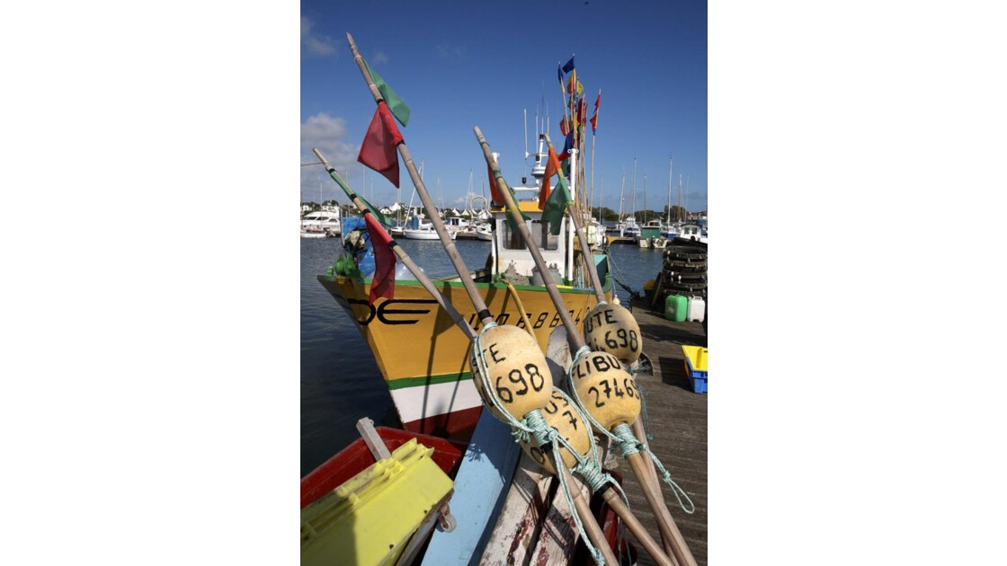 Port-Louis, port de pêche