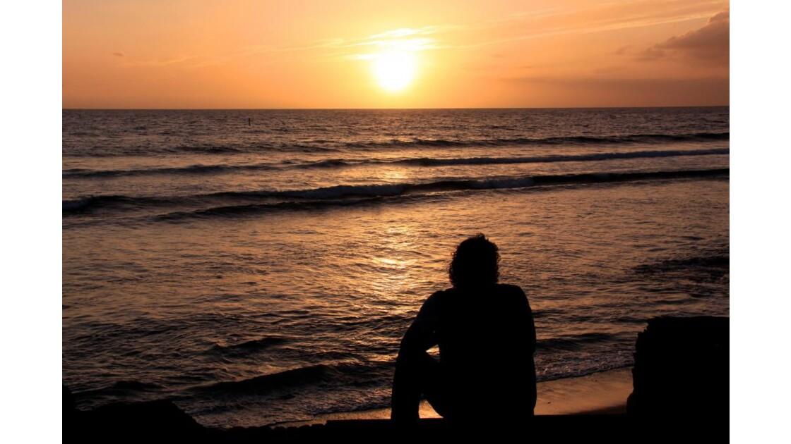 coucher de soleil à st gilles