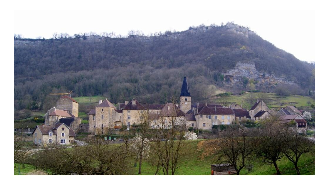 village de Baume les Messieurs