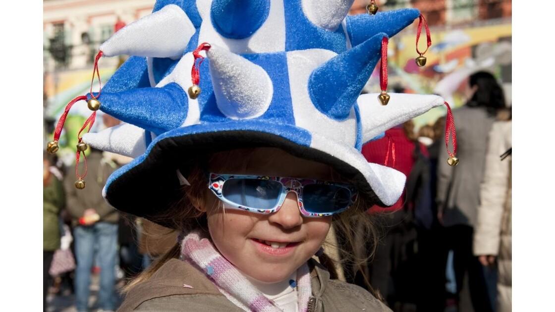 Enfant costumé au Carnaval de Nice 2010