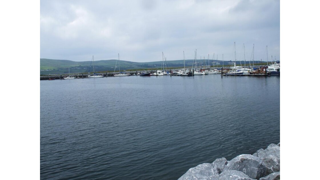 Dingle, le port
