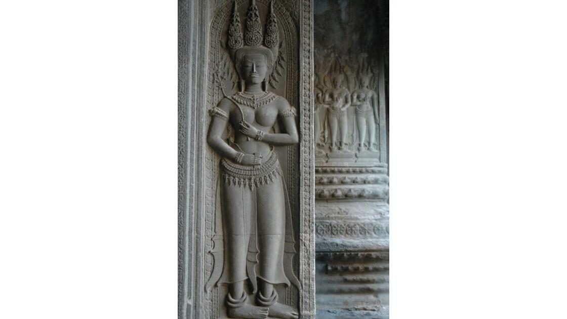 Angkor Vat, apsaras