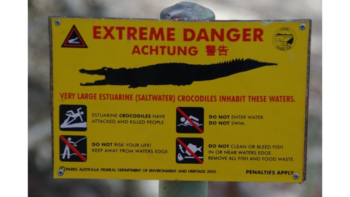 Croc' sign