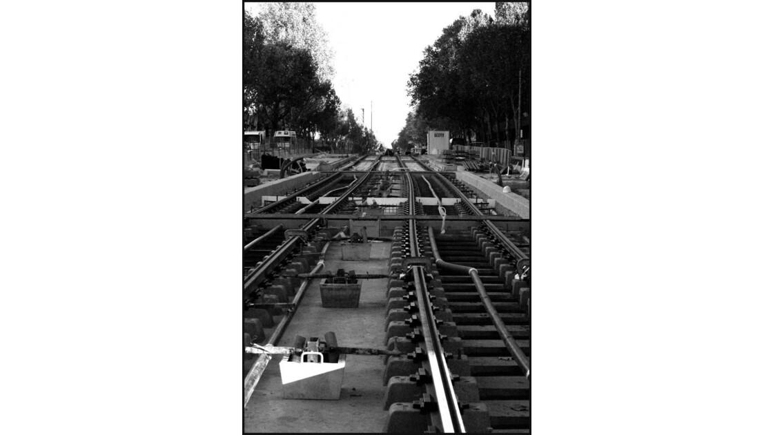 installation tramway a paris