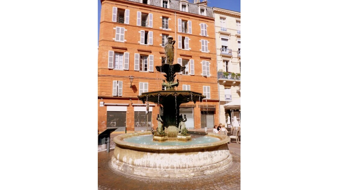 fontaine place Roger Salengro