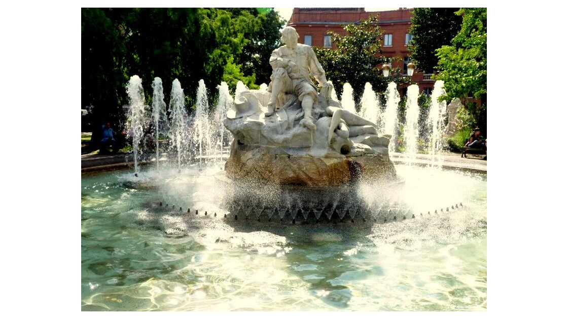 Fontaine du Poete Goudouli