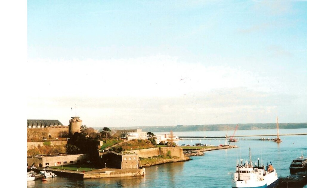 Brest, chateau