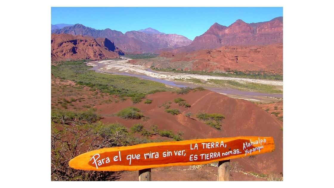 route entre Salta et Cafayate