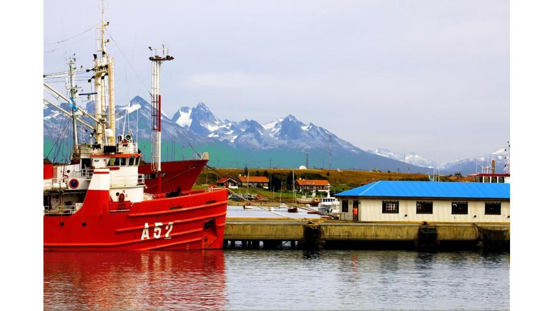 retour au port d'Ushuaia