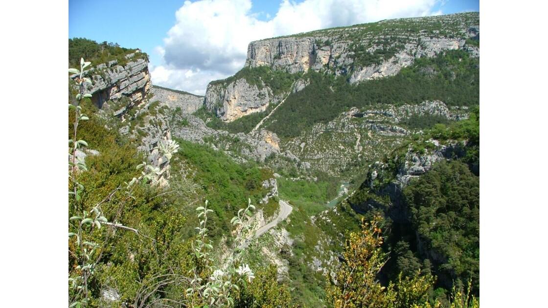 Gorges du Verdon. point sublime