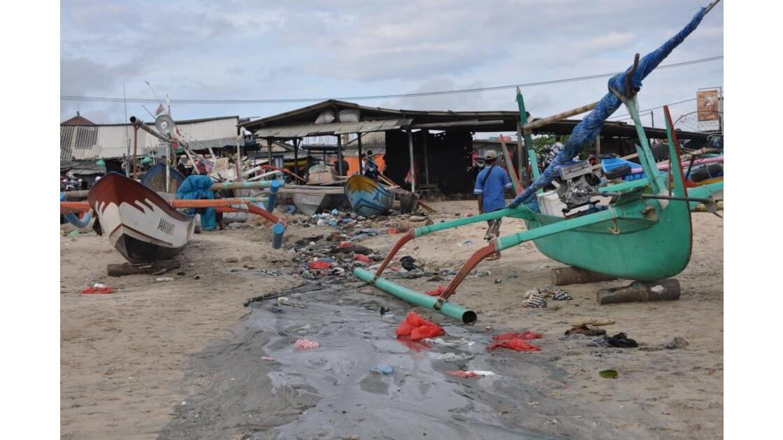 Les pêcheurs à Bali