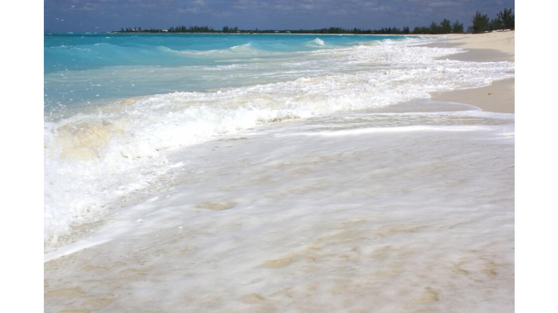 La plage du Club Med à San Salvador