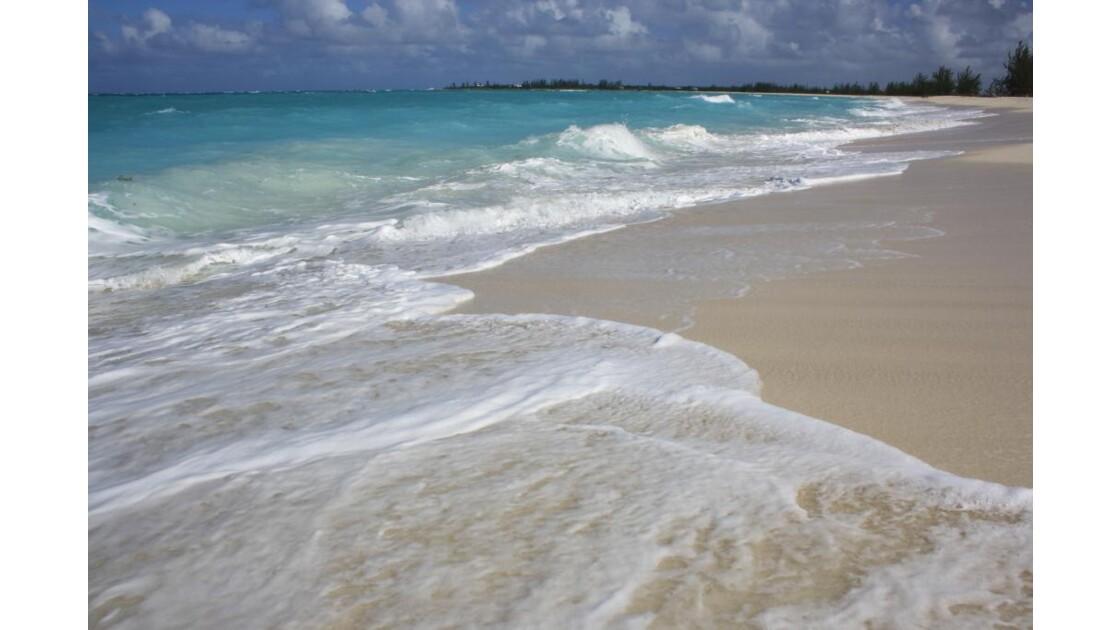 Plage San Salvador aux Bahamas