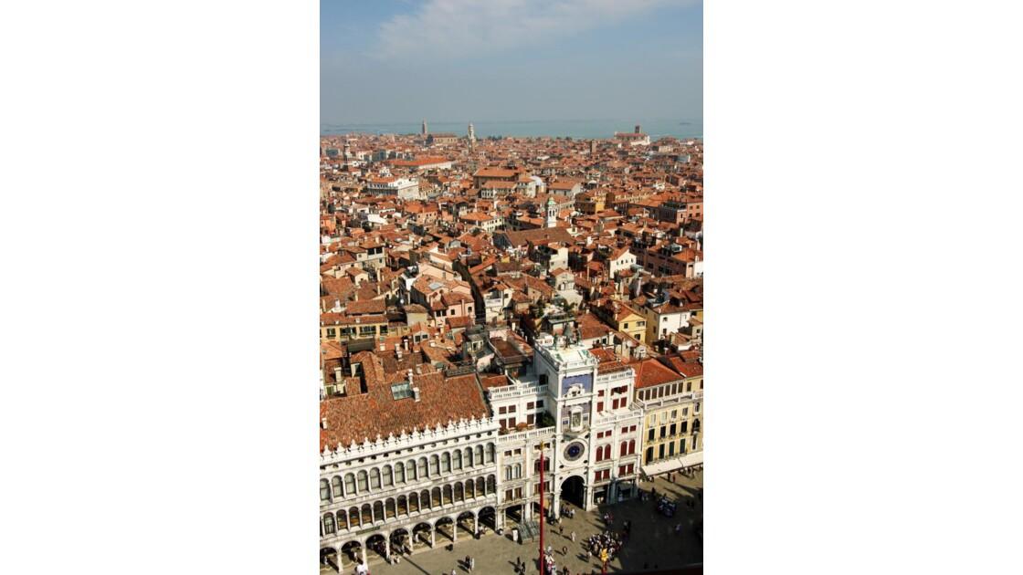 les toits de Venise....