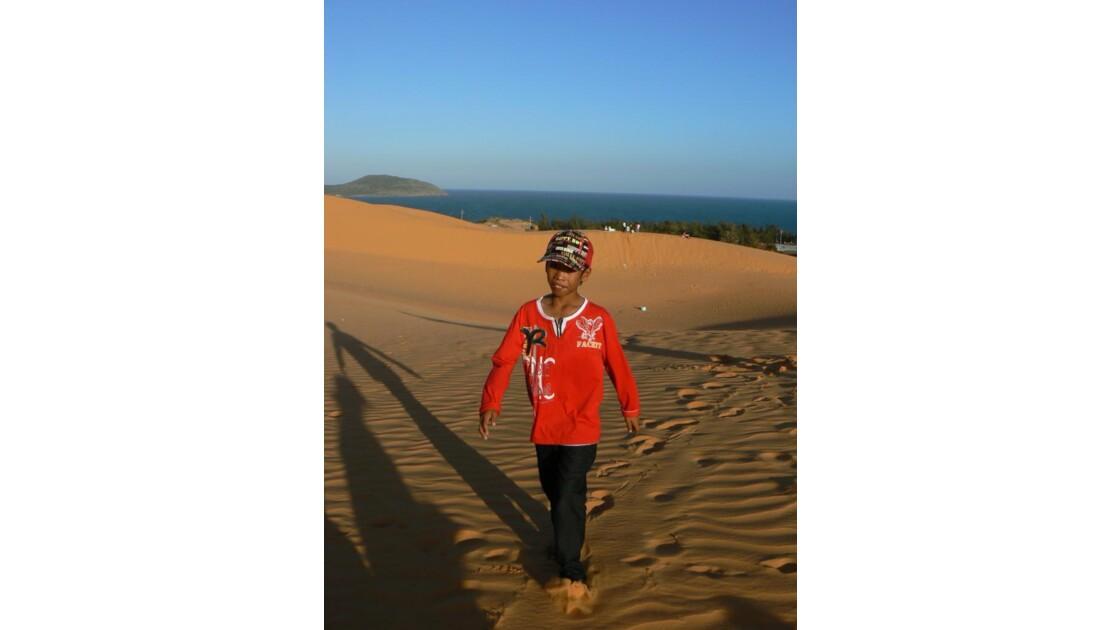 Dunes de sable rouge - Mui Ne