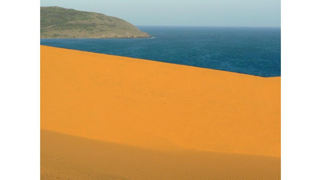Dunes de sable rouge - Mui Ne - Vietnam