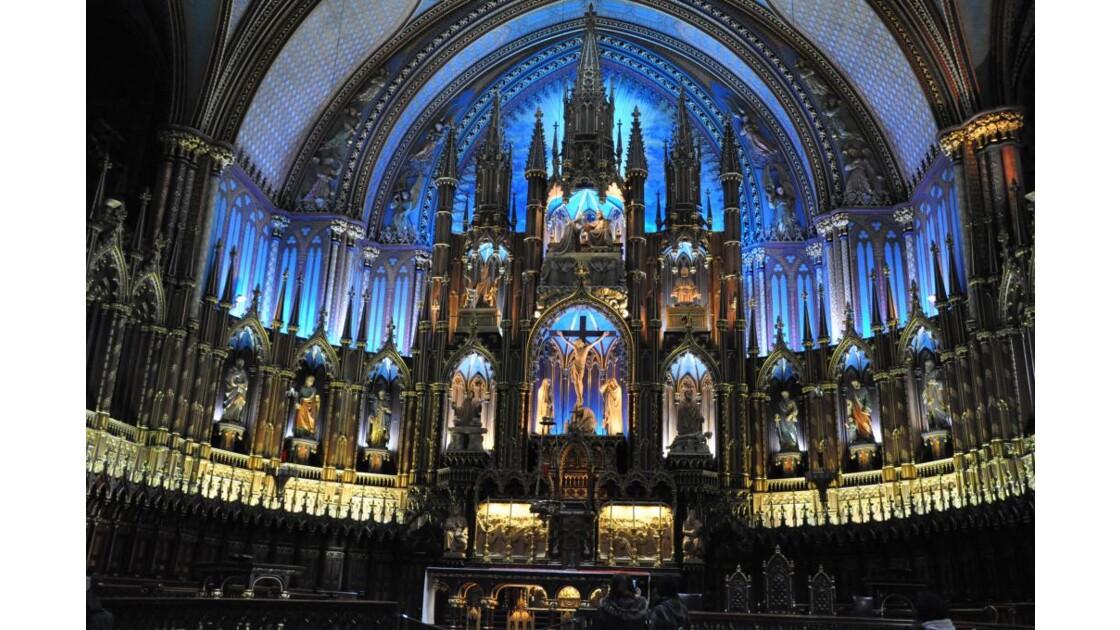 Basilique Sainte-Marie à Montréal