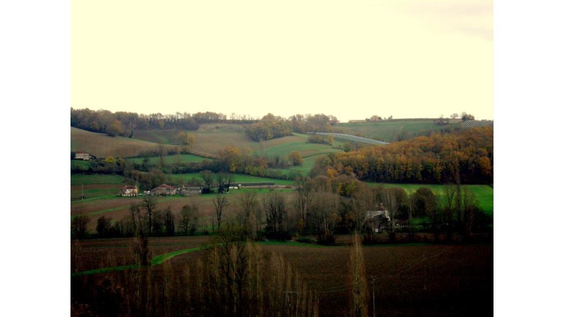 tarn et garonne : paysage