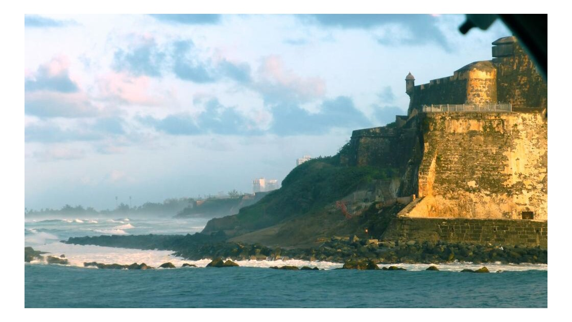 Forteresse et rivage