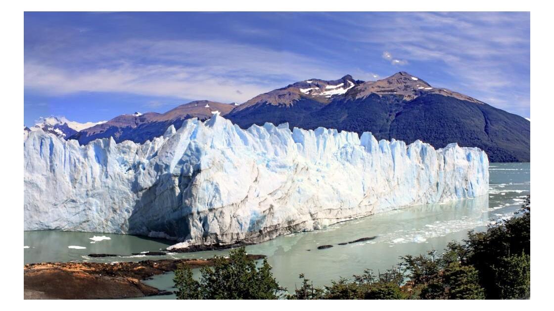 le glacier vu des passerellesdr