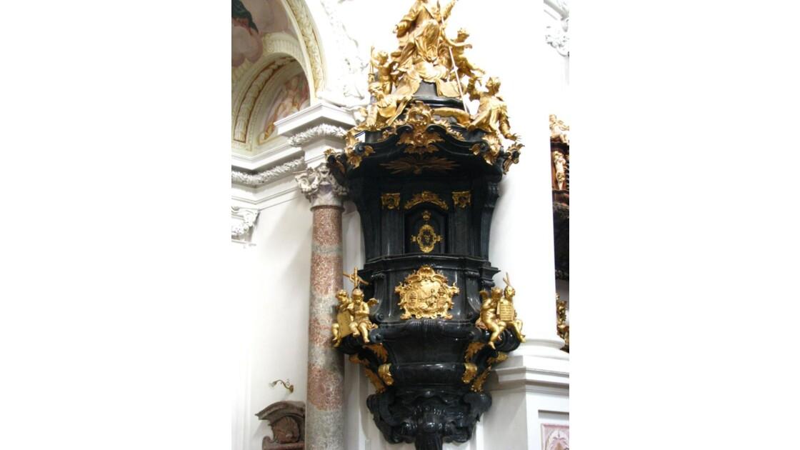 St Florian: la chaire