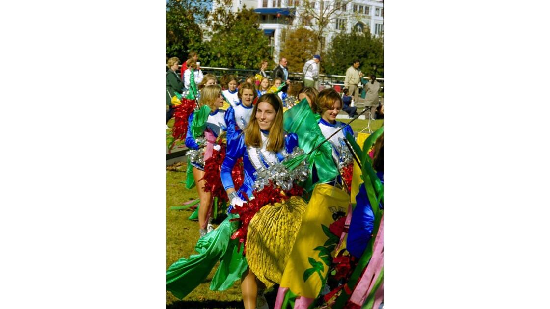 New Orleans Parade près du Mississippi