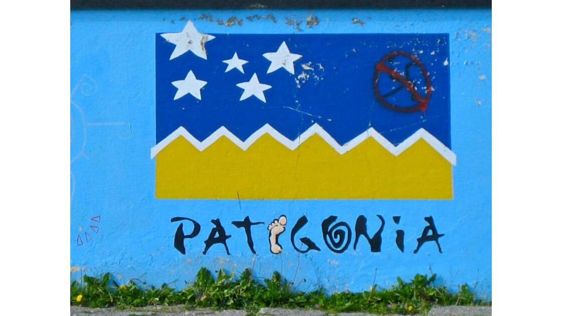 Mur peint à Puerto Natales